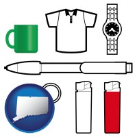 connecticut typical advertising promotional items