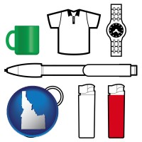 idaho typical advertising promotional items