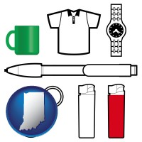 indiana typical advertising promotional items