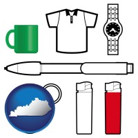 kentucky typical advertising promotional items