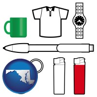 maryland typical advertising promotional items
