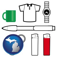 michigan typical advertising promotional items