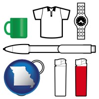 missouri typical advertising promotional items