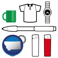 montana typical advertising promotional items