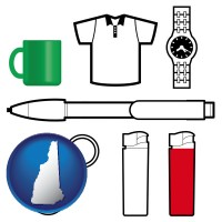 new-hampshire typical advertising promotional items