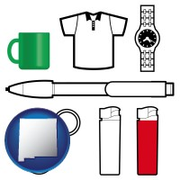 new-mexico typical advertising promotional items