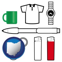 ohio typical advertising promotional items