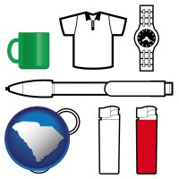 south-carolina typical advertising promotional items