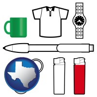 texas typical advertising promotional items