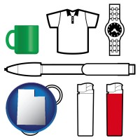 utah typical advertising promotional items