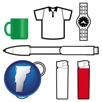 vermont typical advertising promotional items