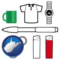 west-virginia typical advertising promotional items