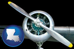 louisiana an aircraft propeller