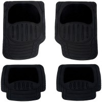front and rear automotive floor mats