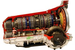 an automatic transmission cutaway