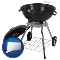 connecticut a kettle-style charcoal grill