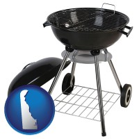 delaware a kettle-style charcoal grill