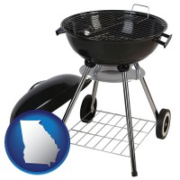 georgia a kettle-style charcoal grill