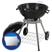 iowa a kettle-style charcoal grill