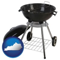 kentucky a kettle-style charcoal grill