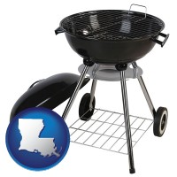 louisiana a kettle-style charcoal grill