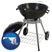 maryland a kettle-style charcoal grill