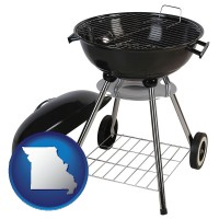 missouri a kettle-style charcoal grill