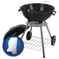 mississippi a kettle-style charcoal grill