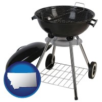 montana a kettle-style charcoal grill