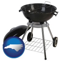 north-carolina a kettle-style charcoal grill