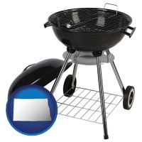 north-dakota a kettle-style charcoal grill