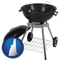 new-hampshire a kettle-style charcoal grill