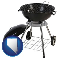 nevada a kettle-style charcoal grill