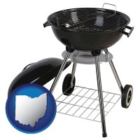 ohio a kettle-style charcoal grill