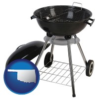 oklahoma a kettle-style charcoal grill