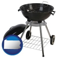 pennsylvania a kettle-style charcoal grill