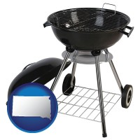 south-dakota a kettle-style charcoal grill
