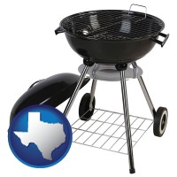 texas a kettle-style charcoal grill