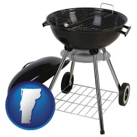 vermont a kettle-style charcoal grill