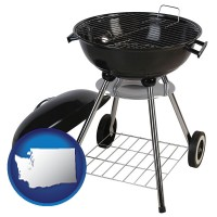 washington a kettle-style charcoal grill