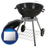 wyoming a kettle-style charcoal grill