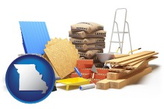 missouri sample construction materials
