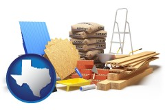 texas sample construction materials