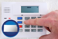 kansas setting a home burglar alarm