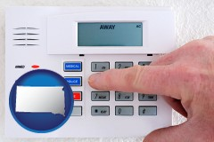 south-dakota setting a home burglar alarm