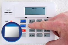 wyoming setting a home burglar alarm