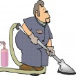 a carpet cleaner using carpet cleaning products