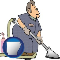 arkansas a carpet cleaner using carpet cleaning equipment and supplies
