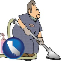 california a carpet cleaner using carpet cleaning products