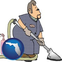 florida a carpet cleaner using carpet cleaning equipment and supplies